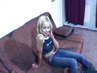 Blond teen gets fucked