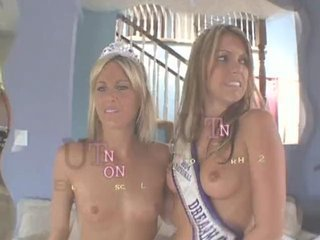 Courtney Cummz and Courtney Simms Cum Swap
