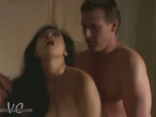 Exotic Asian Babe Syren Receives Her Pussy Fucked and Her Boobs Caressed