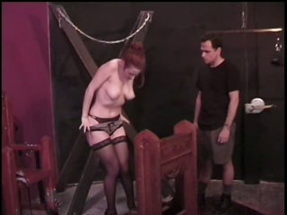 Obedient Brunette Gets Her Large Jugs Tortured By Master Rick Savage