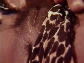 Horny Black Honeys in Vintage Lesbian Sex