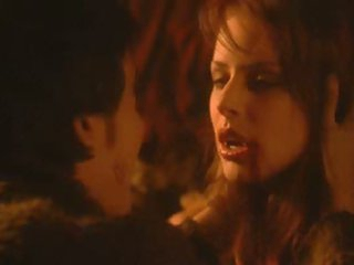 Incredibly Hot Vampires Orgy Featuring Sexy Brunette Chick Diane Neal