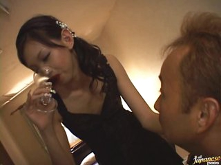 Drunk Asian Teen Mimi Gets Fucked and Facialized