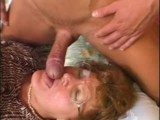 Grandma Caught Her Grandson While Wanking