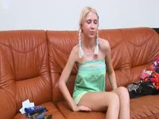 Brutal nipples on unbelievable blonde