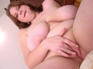 Big Tits BBW Silvi Dildo Pounds Pussy