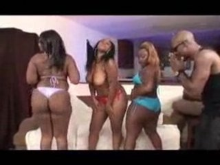 Skyy Black, Mysterious & Queen B Got Tits & Ass