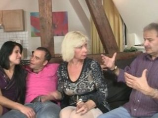 Sweetie gets lured into 3some by her BF's parents
