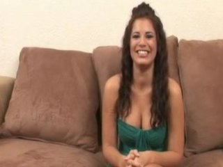Lovely brunette impregnated by dark chaps - Interracial creampie