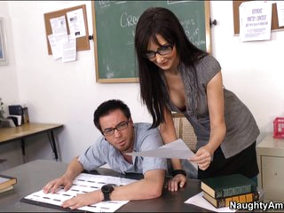 Nasty teacher Diana Prince seduces her student