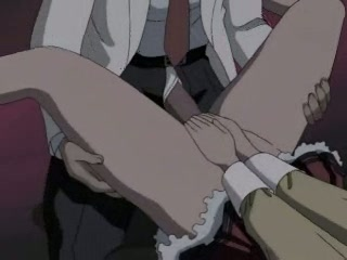 Manga whore getting a massive cock rammed up her small wet hole