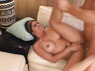 Tattooed Olivia Olovely gets her ass crammed with cock
