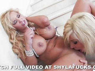 Shyla Stylez and Puma Swede eat juicy wet snatch