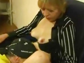 Amateur Blonde Mom Fucks Her Sons friend