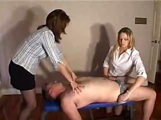 Hot blonde amateur girl cfnm handjob video hot mini skirt