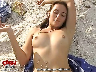 Couple's sex on the beach