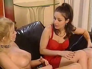 Two lusty ladies eat pussy and fist ass