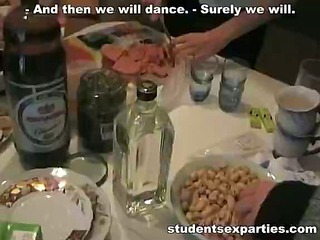 Everything Hot is Seen at the Student Party