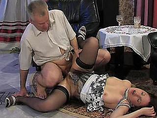 Jaclyn&Caspar hotty and oldman movie