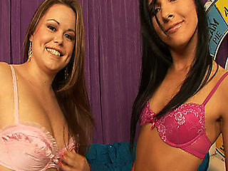 Ashli and Kaci compete for the ultimate slut title.