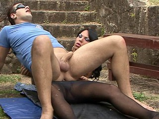 linda&vinny ladyboy pantyhosefucked on episode