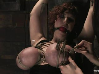 princess donna gives mariah cherry pain and pleasure!