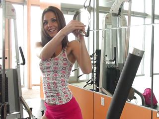 kiera winters has a public and private workout session