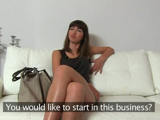 Stunning Suzanna offers carnal pleasures with her wet snatch