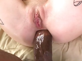 Extreme double penetration action with blondie and moonless dudes