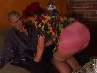 Penny Flame In Colofrul Dress Getting Her Pussy Fucked By Large Cock
