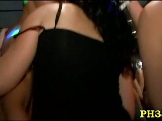 Blowing cocks whores at party