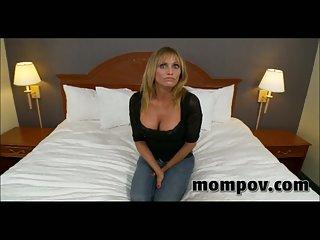 Big tits milf acquires POV cock
