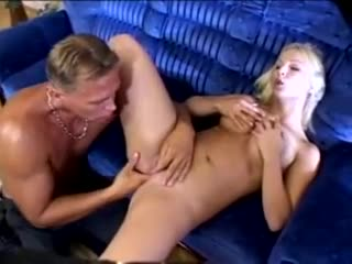 Hawt cunt licking and ass pounding with blonde