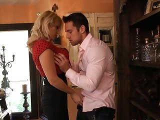 Naughty Charlee Chase seduces this sexy hunk