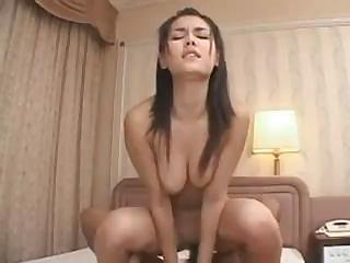 Chinese babe Maria Ozawa gets dicked deep in the slit and a facial